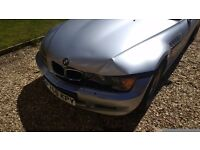 BMW Z3 1.9 petrol. Some minor accident damage , can be driven home, ring for details .