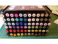 Spectrum Noir 72 pen set with storage rack and tutorial CD