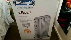 Delonghi dragon 3 heater new