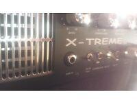 Warwick X-TREME Bass rig. 1000 watt HEAD and 1x15 cab