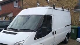 Transit van roof rack needed