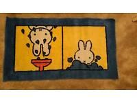 Miffy bath mat