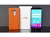 LG G4 IN SUPER CONDITION WITH 2 COVERS AND UNLOCKED HARDLY USED