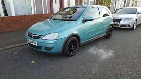 2004 Vauxhall corsa low mileage full mot cheap