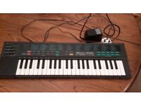 Yahama electric keyboard and cable