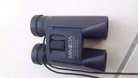Minolta Pocket 8x22, wide angle binoculars with case