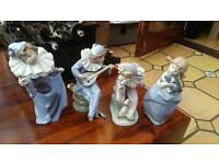 Lladro Nao Clown Collection plus 1