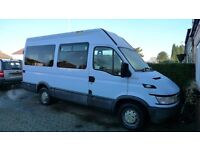 2005 Iveco 35 S12 Minibus, 13 seats, Diesel, MWB, Hi-top, Low Emission Zone exempt