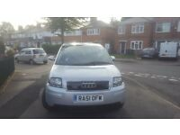 Audi a2 1.4 low milage