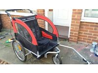 Double Bike Trailer - great condition