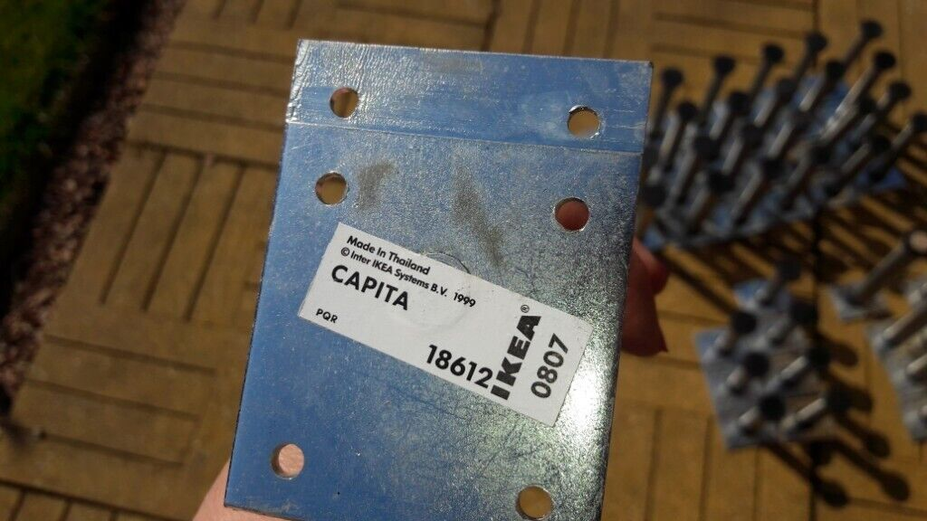 Price reduced!!! Ikea capita stainless steel kitchen cabinet legs | in  Angus | Gumtree