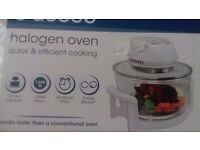 Halogen oven quick and efficient cooking 12 litre capacity cooks faster than conventional oven