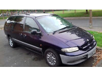 Chrysler grand voyager 1999 auto LPG full mot