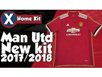 brand new red home MAN UNITED shirt 2017/18