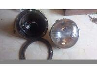 79 Mg midget dials, bumpers, headlight unit