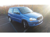 2001(Y)SUZUKI IGNIS 1.3 GL MET BLUE,LOW MILES,CLEAN CAR,GREAT VALUE