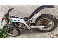1991 beta 260 trials bike