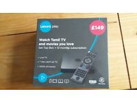 Lebara play watch tamil tv set top box