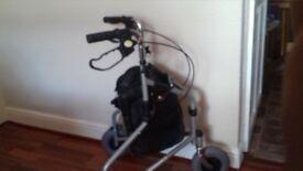 3 wheeler shopping walker