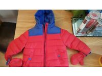 Brand new boys winter coat 18-24 month
