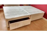 Sealy Double bed 2 Draw base unit