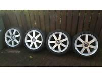 genuine ford volvo alloy wheels 18 inch