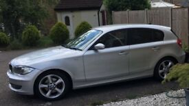 BMW 1 series 120 2.0 MY ise... M Sport body work. Nearly FSH. Lady owner. Top of range model 79k