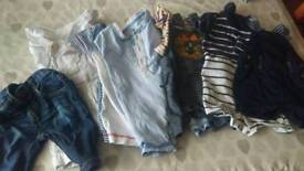 Massive bundle of Baby BOY clothes and bath