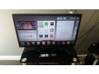 """Lg 32"""" smart tv for sale cheap."""