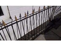Arrow head railing