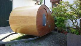 Teardrop Caravan Bodyshell - or a great Wendy-House