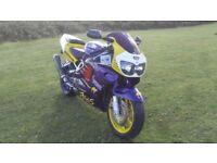 HONDA CBR900RR,FIREBLADE,SMOKIN JOES,1996 N REG,AKRAPOVIC,MANY EXTRAS,NEW MOT,PX,SWOP KTM, ENDURO