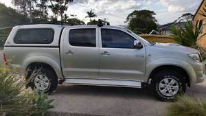 2009 Toyota Hilux Ute Caves Beach Lake Macquarie Area Preview