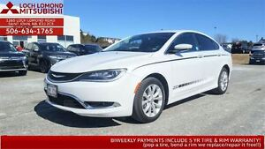 2015 Chrysler 200 C - LOADED for only $160 BW in MAY ONLY!
