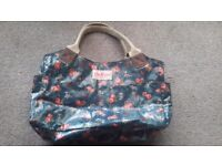 Cath kidston zip up oil cloth handbag - ideal for Christmas present