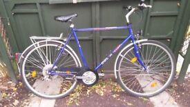 Mans Mistral Delta City Bike