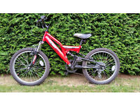 Trax TFS20 Childs Moutnain Bike full suspension