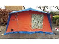 Vintage Lamont Large Size 7 Berth Tent
