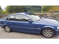 Lovely bmw fantastic car for age full mot fantastic on fuel only selling cause just lost my job