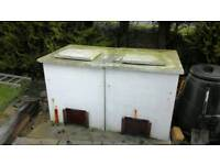 Double coal bunkers free to good home