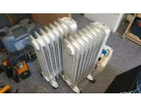 Laptronix 1500w oil radiator with thermostat