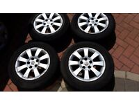 Vauxhall 5 stud alloys 4 in total fit all 5 stud vauxhalls plus other cars.
