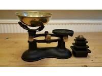 Cast iron kitchen scales