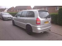 2002 Vauxhall Zafira 2.0 gsi MOT Cheap quick sale