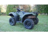 Honda TRX 500 Fourtrax 4WD ATV - Quad