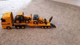 JCB Tractor transporter