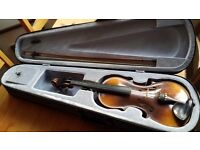 1/2 size violin outfit perfect for beginners