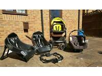 Graco Travel System push chair car seat isofix