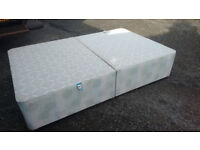 Small double bed BASE . No mattress. Quick FREE delivery base only 4ft wide A 3/4 or Queen size bed