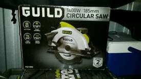 Guild 1400 185mm circular saw ( pick up only )